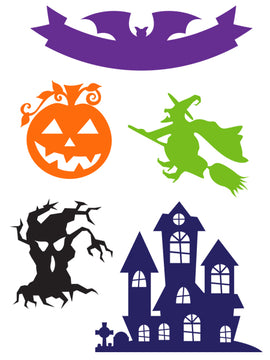 Little B - Dies - Halloween Icons