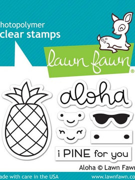 Lawn Fawn - Aloha Stamps