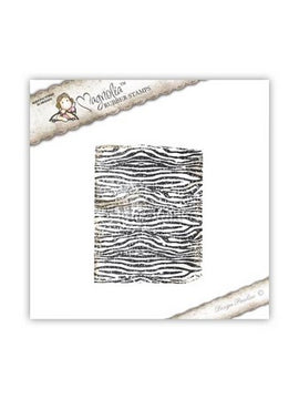 Magnolia Stamps - Animal Of The Year Collection - Background Zebra Pattern