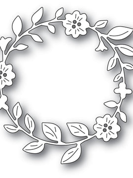 Memory Box - Dies - Bellflower Circle Wreath