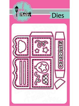 Pink & Main - Dies - Box Card