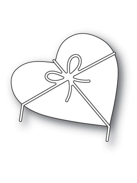 Poppystamps - Dies - Heart & Bow