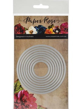 Paper Rose - Dies - Stitched Circles