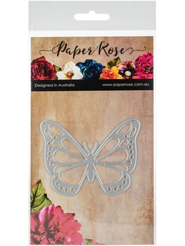 Paper Rose - Dies - Vanessa Butterfly