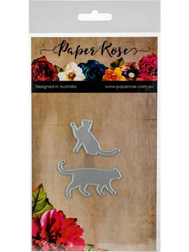 Paper Rose - Dies - Walking Cat