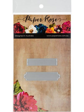 Paper Rose - Dies - Label One