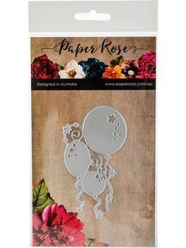 Paper Rose - Dies - Bunch Of Balloons
