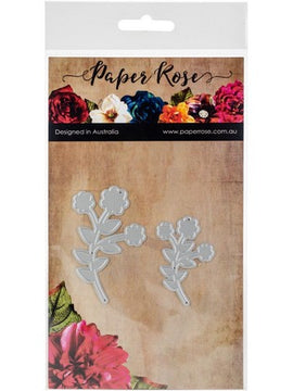 Paper Rose - Dies - Floral Branches