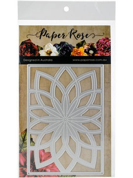 Paper Rose - Dies - Bloom Layered Background 2