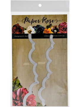 Paper Rose - Dies - Cloud Borders