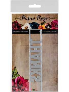 Paper Rose - Dies - Thanks Peek-A-Boo