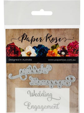 Paper Rose - Dies - Wedding Engagement