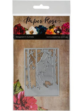 Paper Rose - Dies - Reindeer In Forest
