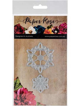 Paper Rose - Dies - Lacy Ornaments 1