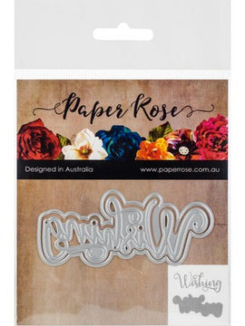 Paper Rose - Dies - Wishing Layered