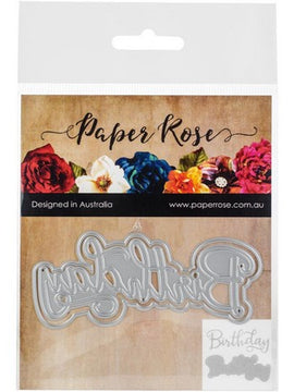 Paper Rose - Dies - Birthday Layered