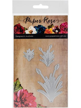 Paper Rose - Dies - Grass Bushes