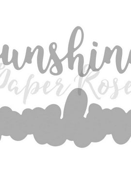 Paper Rose - Dies - Sunshine Layered