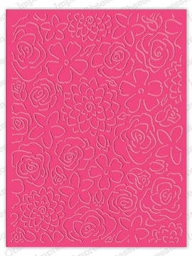 Serendipity Dies - Floral Cuts Background
