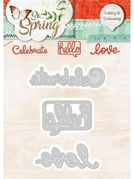 Studio Light - Dies - So Spring - Celebrate, Hello & Love