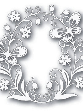 Tutti Designs - Dies - Butterfly Oval