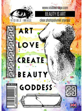 Visible Image - Stamps - Beauty Is Art