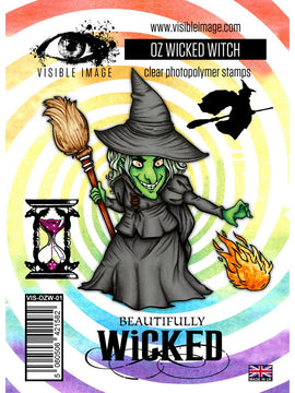 Visible Image - Stamps - OZ Wicked Witch Stamps