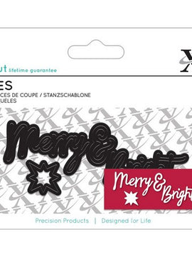 X-Cut Dies - Merry & Bright