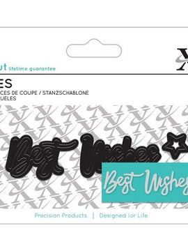 X-Cut Dies - Best Wishes