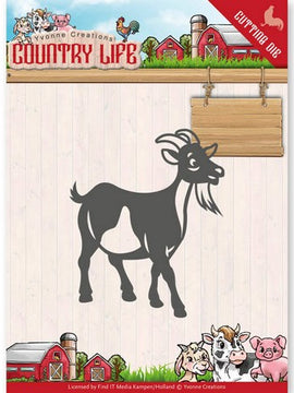 Yvonne Creations - Dies - Country Life - Goat