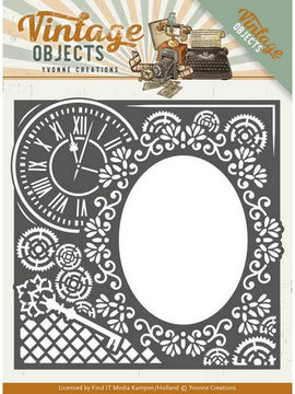 Yvonne Creations - Vintage Objects - Endless Times Frame