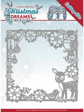 Yvonne Creations - Christmas Deams - Christmas Animal Frame