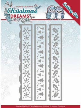 Yvonne Creations - Christmas Deams Collection - Christmas Borders