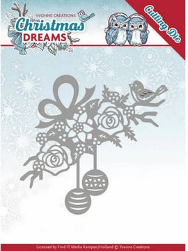 Yvonne Creations - Christmas Deams Collection - Bauble Ornament