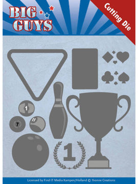 Yvonne Cretaions - Big Guys Collection - Play To Win