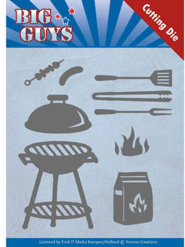 Yvonne Cretaions - Big Guys Collection - BBQ Time