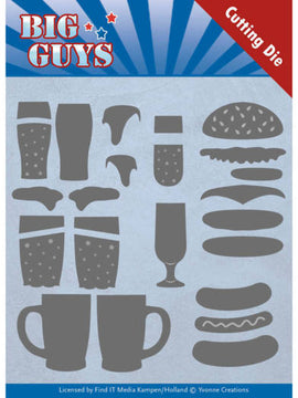 Yvonne Cretaions - Big Guys Collection - Fast Food