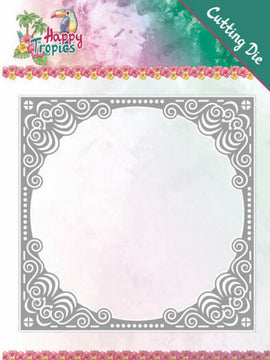 Yvonne Creations - Dies - Happy Tropics - Tropical Frame
