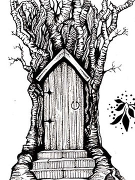 Lavinia Stamp - Fairy Door Large