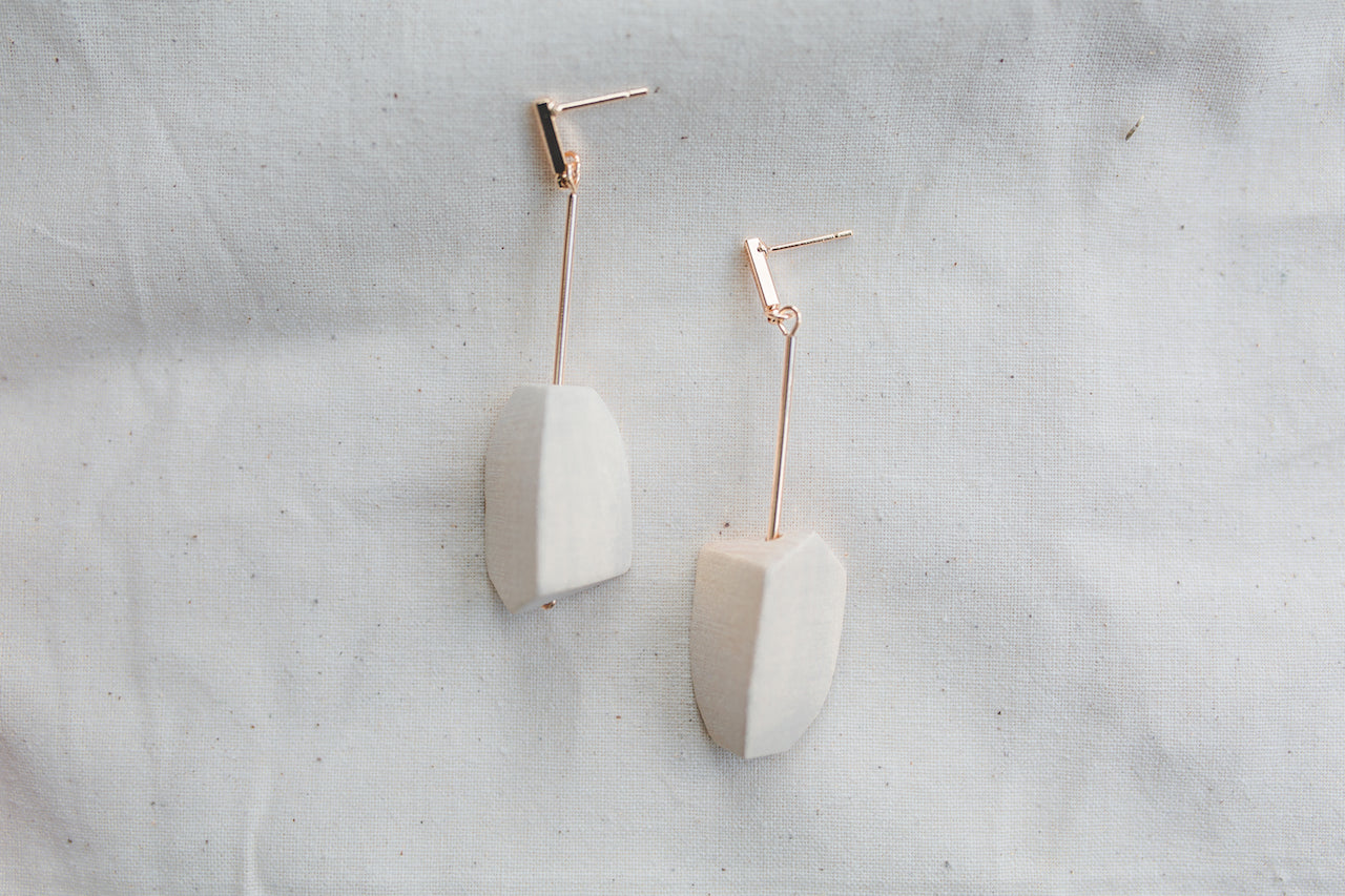 Savannah Block Earrings