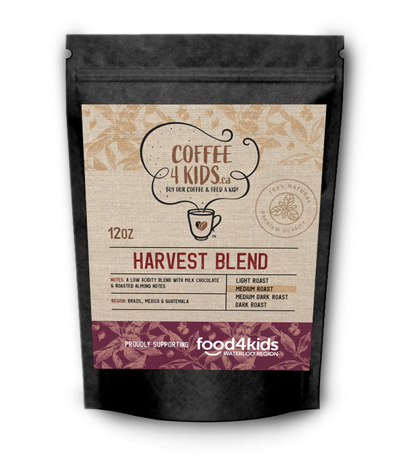 Coffee4Kids 12oz Harvest Blend
