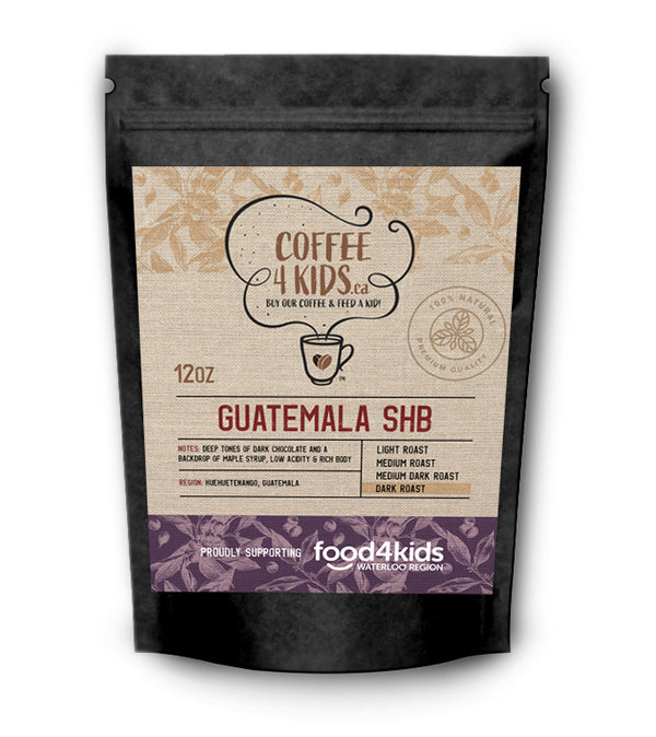 Coffee4Kids 12oz Guatemala SHB