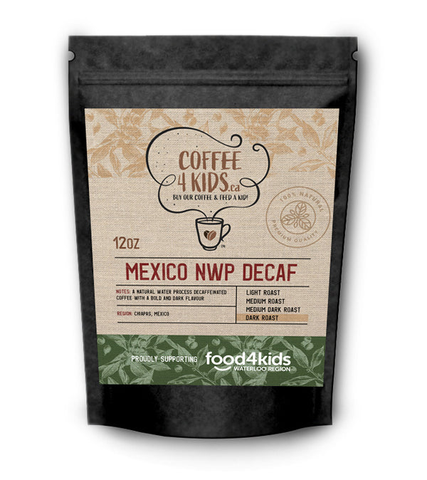 Coffee4Kids 12oz Mexico NWP Decaf