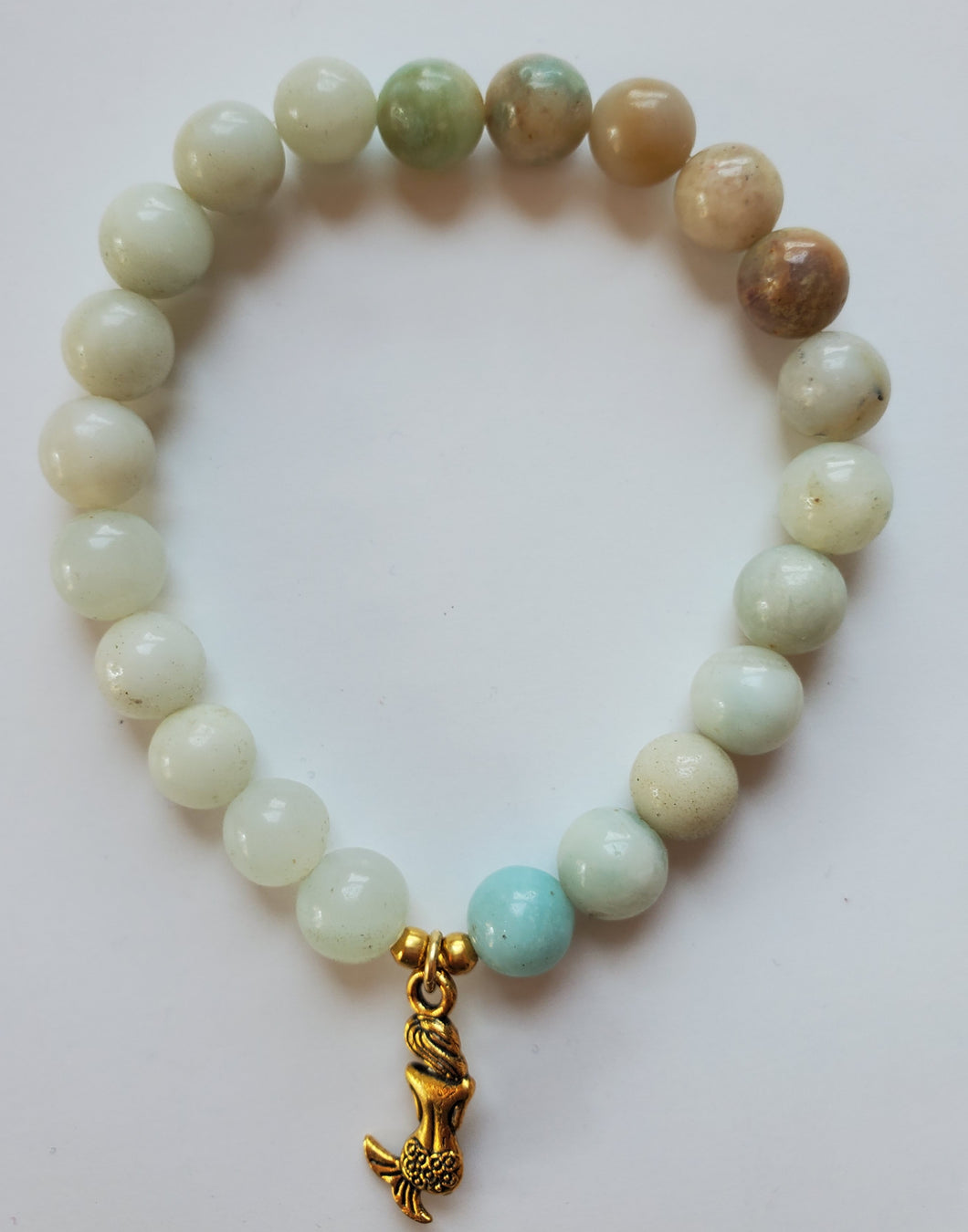 Amazonite Mermaid Bracelet