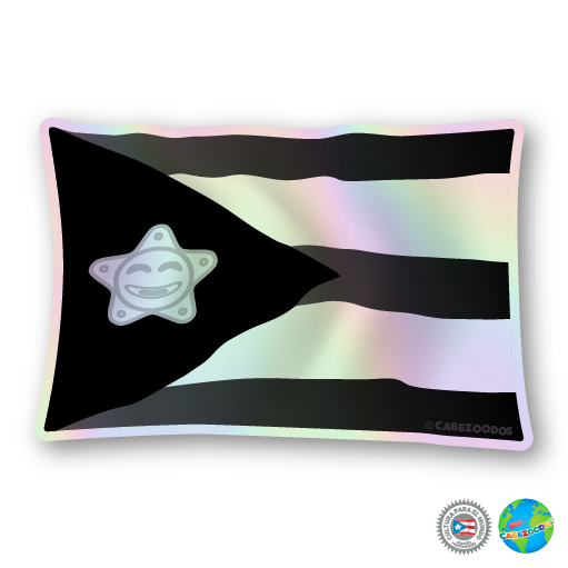 Sticker: Bandera negra [holographic]