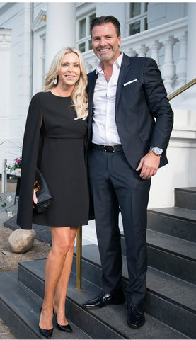 Sif Jakobs and her husband Søren Dahl