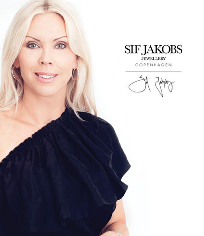 Sif Jakobs is the woman behind the brand and company : Sif Jakobs Jewellery