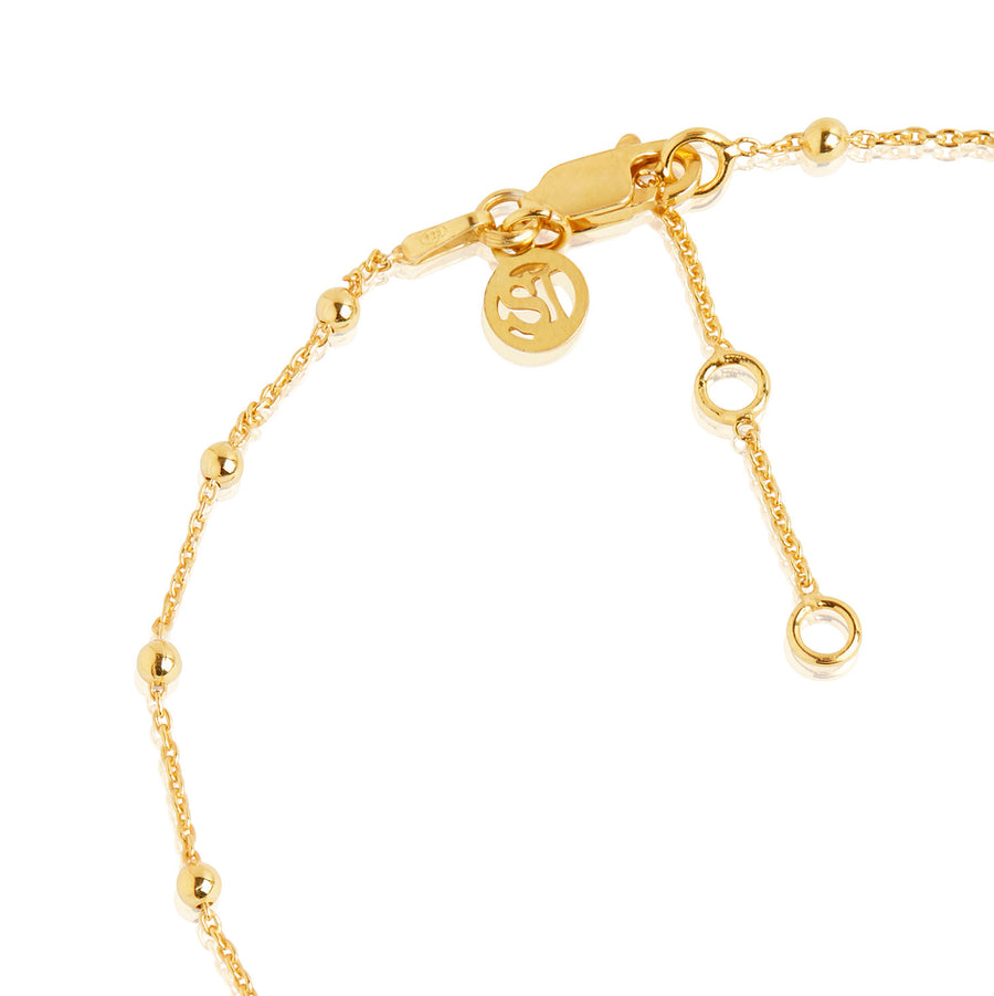 Ankle Chain Cavalier - 18k gold plated