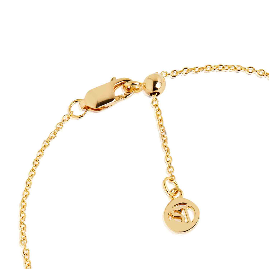 Ankle Chain Princess - 18k gold plated with white zirconia