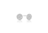 Earrings Grezzana with white zirconia